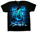 Jimi Hendrix - Blue Wild Angel Shirts
