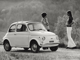 Model of Fiat 500 R Photographic Print