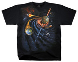 Nature - Space Spiral Shirts