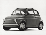 Model of Fiat 500 Photographic Print