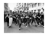 A Running Race for Postmen in Paris Photographic Print
