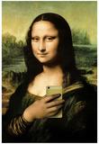 Mona Lisa Selfie Portrait Affiches