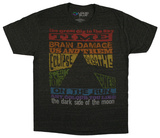 Pink Floyd - Dark Side Tracks T-shirts