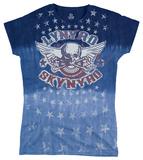 Juniors: Lynyrd Skynyrd - Skynyrd Stars T-Shirt