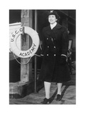 Female Officer of the US Navy Photographic Print