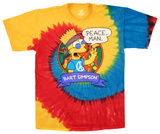 The Simpsons - Peace Man T-shirts