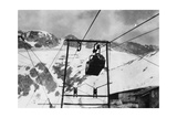 Detail of the Big Cableway Photographic Print