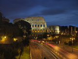 Flavian Amphitheatre Or Coliseum in Rome Photographic Print by Unknown Artist
