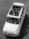 The Car Fiat Giardiniera 500 Photographic Print