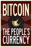 Bitcoin The People's Currency Print