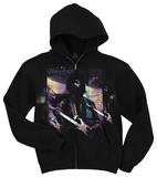 Zip Hoodie: Jimi Hendrix - Free Spirit T-shirts