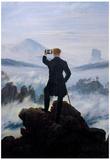 Wanderer Selfie Portrait Prints