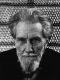 Portrait of Ezra Pound Photographic Print