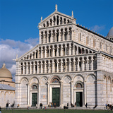 Cathedral of Santa Maria Assunta in Pisa Photographic Print by  Rainaldo