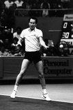John Mcenroe Playing a Forehand Shot Photographic Print