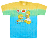 The Simpsons - Mmm Pi T-Shirt