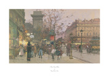 Parisian Street Scene Prints by Eugene Galien-Laloue