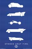 Batman - Rides Poster