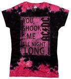 Juniors: AC/DC - Shook Me T-shirty