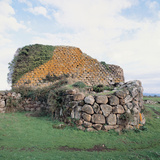 Nuraghe at Losa, 8th Century B.C., 2nd Century A.D. Photographic Print by Unknown Artist