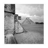 Aztec Temples in the Middle of a Clearing Photographic Print