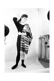Giorgia Moll Raising Her Arm Photographic Print