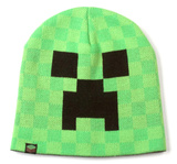 Minecraft Creeper Face Beanie Gorro de lana