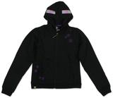 Youth Zip Hoodie: Minecraft Enderman Hættetrøje med lynlås