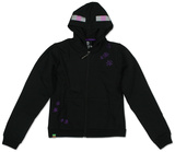 Youth Zip Hoodie: Minecraft Enderman Felpa con cappuccio con chiusura a zip