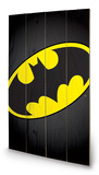 DC Comics - Batman Symbol Wood Sign Wood Sign