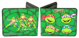 Teenage Mutant Ninja Turtles - TMNT Classic Group Leather Wallet Wallet