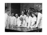 Albert Sabin in His Laboratory Photographic Print