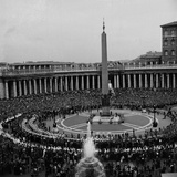 Casket of Pope John XXIII Passing Through Saint Peter's Square Photographic Print