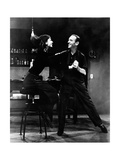 Audrey Hepburn and Fred Astaire in Funny Face Photographic Print