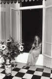 Dalida in Her House in Paris Photographic Print