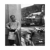 Truman Capote in Portofino Photographic Print