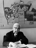 Albert Sabin Sitting in His Office Photographic Print