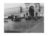 Ambulances of the American Red Cross in Milan Photographic Print