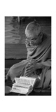 A Brahmin in Prayer Photographic Print