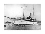 The Yacht 'Elettra' of Guglielmo Marconi Photographic Print