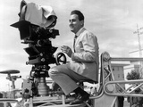 Alberto Sordi on the Set Photographic Print