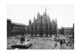 Piazza Del Duomo in Milan Photographic Print