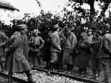 Austrian War Prisoners Photographic Print
