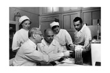 Albert Sabin in a Laboratory with Other Physicians Photographic Print