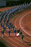 The Italian Delegation at the Opening Ceremony of Tokyo Olympic Games Photographic Print
