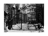 The Auschwitz Gate Photographic Print