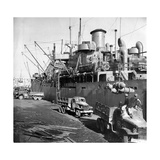 Unloading of War Material Photographic Print