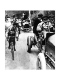 Giovanni Gerbi Cycling Photographic Print