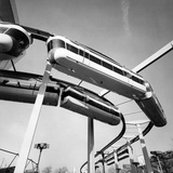 The Monorail of the New York World's Fair Photographic Print