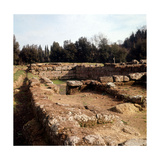 A View of Etruscan Walls Photographic Print